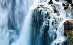 водопад, водопады, природа, пейзаж