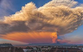Calbuco Volcan, Chile, Puerto Montt, landscape