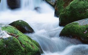 cascata, cascate, acqua, FLOW, natura, pietre