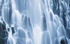 cascata, cascate, acqua, FLOW, natura