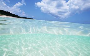 вода, море, океан, природа