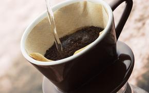 kawa, pić, napoje, puchar, czajnik