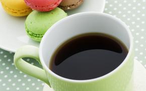 caffè, bere, bevande, tazza, biscotti