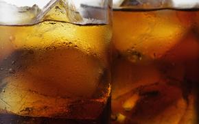 café, beber, bebidas, gafas, hielo