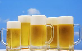 啤酒泡沫, opupennoe, 啤酒, pivasik, 马克杯, 泡沫, 非常有害