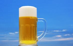 espuma de la cerveza, opupennoe, cerveza, pivasik, jarra, espuma, muy perjudicial
