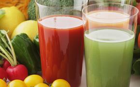 jugo, vegetal, verduras, útil, beber