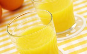 succo, frutta, arancione, utile, bere