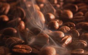 caffè, chicchi di caffè, bere, sapore, per arrosti