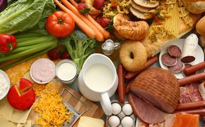 tabla, Productos, comida