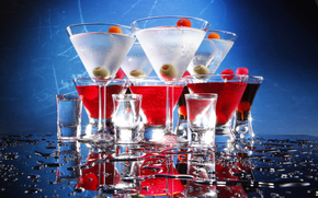 cocktail, Martini, drink