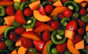 еда, текстура, фон, продукты питания, фрукты
