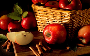 apples, fruit, food
