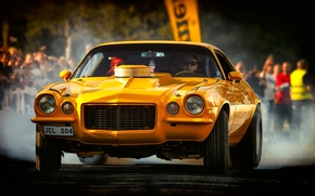 1972 Chevrolet Camaro, Chevrolet Camaro, Chevrolet, Camaro, giallo