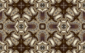 симметрия, геометрия, узор, абстракция, фракталы, калейдоскоп