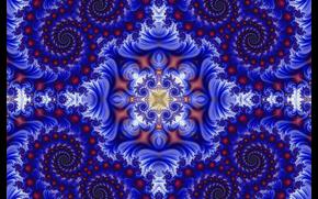 対称性, ジオメトリー, パターン, 抽象化, フラクタル, 万華鏡