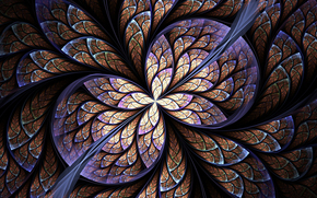 symmetry, geometry, pattern, abstraction, fractals, kaleidoscope