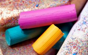 Papelería, para los artistas, pinturas, tonos, COLOR, crayones, pastel