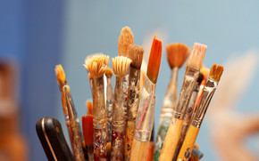 Stationery, for artists, brush