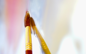 Stationery, for artists, paints, COLOR, tassel