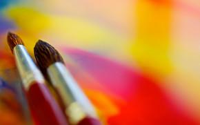 Cartoleria, per gli artisti, vernici, COLORE, spazzolare