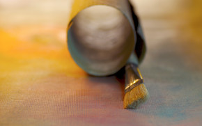 Cartoleria, per gli artisti, tela, spazzolare