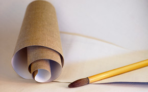 Stationery, for artists, canvas, tassel