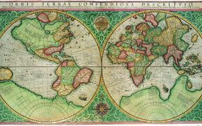 旧地图, 导航, 由在遥远的过去, 浸泡在海风海洋
