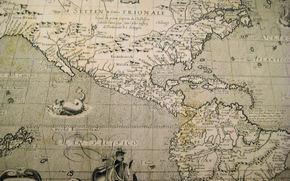 Stare mapy, nawigacja, Składa się w odległej przeszłości, moczony w słonych morzach i oceanach wiatrowych