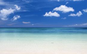 agua, mar, océano, naturaleza, playa, cielo, recreación, Relajarse, verano