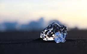 ice, nature, transparent, winter