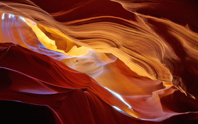 каньон, каньон Антилопы, Аризона, США, природа