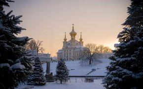 Peterhof, subir, Rusia
