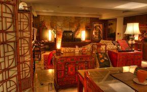cuarto interior, interior, habitación, muebles