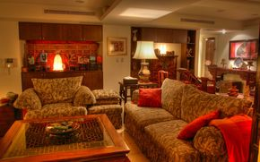 sala interna, interno, stanza, mobili
