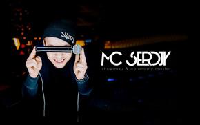 mc, mc serdjy, serdjy, microphone, black