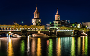 Berlin, Berlin, capital, Deutschland, Germany, Germany, city, panorama, lights