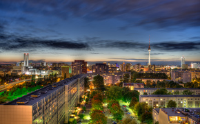 Berlin, Berlin, capital, Deutschland, Germany, Germany, city, panorama, night, home, building, TV Tower, road, lights