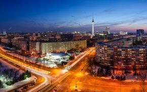Berlin, Berlin, capital, Deutschland, Germany, Germany, city, panorama, lights