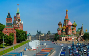 St. Basil, Kremlim, Moscow, Moscow, Kremlin, St. Basil's Cathedral