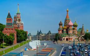 St. Basilio, Kremlim, Moscú, Moscú, Kremlin, Catedral de San Basilio
