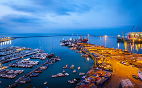 Salerno, Italia, porto