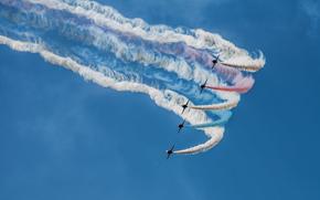Flugzeug, Himmel, Festival