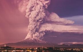 Volcano Calbuco, chili, Puerto Montt, Volcan Calbuco, Puerto Montt