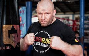 mma, Sergei Kharitonov, fighter, Kickboxer, Fighter, golden glory, Russian tank