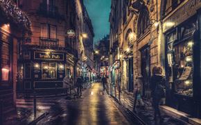 パリ, フランス, パリ, フランス, 都市, 夜