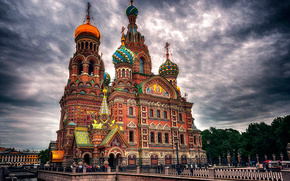 Church of the Saviour on Spilled Blood, petersburg, city