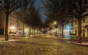 Kampa, noche, Praga