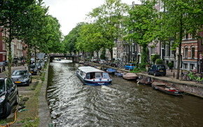 Amsterdam, City Amsterdam, capital and largest city of the Netherlands, Netherlands, Located in the province of North Holland