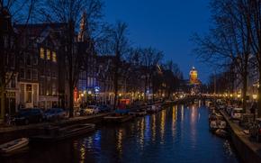 Amsterdam, Miasto Amsterdam, stolica i największe miasto Holandii, Niderlandy, Znajduje się w prowincji Holandia Północna